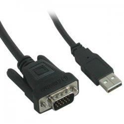 C2G (Cables To Go) - 38057 - C2G 6ft M1 to HD15 VGA + USB A Cable - 6ft - Black