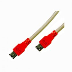 Global Marketing Partners - 1600 - Unibrain 33ft Firewire-400 cable - Male FireWire - Male FireWire - 33ft