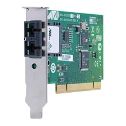 Allied Telesis - AT-2701FXA/ST-901 - Allied Telesis 100Mbps Fast Ethernet Dual Fiber Network Interface Card - PCI 2.2 - 2 Port(s) - 2 x ST Port(s) - Optical Fiber - Low-profile