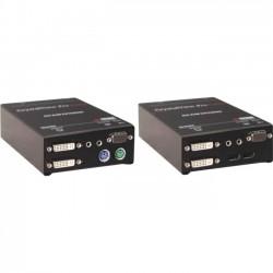 Rose Electronics - CRK-2DTXPD2D/AUD - Rose Electronics Digital CATx KVM Extender - 400 ft Range - WUXGA - 1920 x 1200 Maximum Video Resolution x PS/2 Port x DVI - Rack-mountable