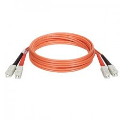 Tripp Lite - N306-15M - Tripp Lite 15M Duplex Multimode 62.5/125 Fiber Optic Patch Cable SC/SC 50' 50ft 15 Meter - SC Male - SC Male - 49.21ft - Orange
