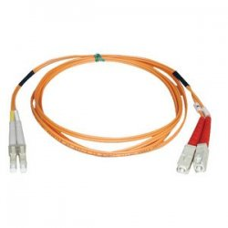 Tripp Lite - N316-25M - Tripp Lite 25M Duplex Multimode 62.5/125 Fiber Optic Patch Cable LC/SC 82' 82ft 25 Meter - SC Male - LC Male - 80ft - Orange