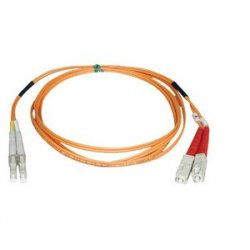 Tripp Lite - N316-30M - Tripp Lite 30M Duplex Multimode 62.5/125 Fiber Optic Patch Cable LC/SC 100' 100ft 30 Meter - SC Male - LC Male - 98.43ft - Orange