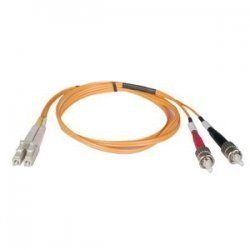 Tripp Lite - N318-09M - Tripp Lite 9M Duplex Multimode 62.5/125 Fiber Optic Patch Cable LC/ST 30' 30ft 9 Meter - ST Male - LC Male - 29.53ft - Orange