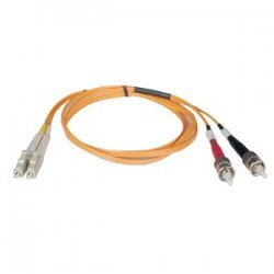 Tripp Lite - N318-15M - Tripp Lite 15M Duplex Multimode 62.5/125 Fiber Optic Patch Cable LC/ST 50' 50ft 15 Meter - ST Male - LC Male - 49.21ft - Orange