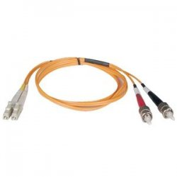 Tripp Lite - N318-20M - Tripp Lite 20M Duplex Multimode 62.5/125 Fiber Optic Patch Cable LC/ST 65' 65ft 20 Meter - ST Male - LC Male - 65.62ft - Orange