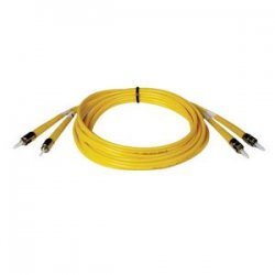 Tripp Lite - N352-05M - Tripp Lite 5M Duplex Singlemode 8.3/125 Fiber Optic Patch Cable ST/ST 16' 16ft 5 Meter - ST Male - ST Male - 16.4ft - Yellow