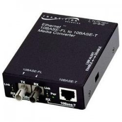 Transition Networks - E-TBT-FRL-05(LH)-NA - Transition Networks Stand-Alone Media Converter - 1 x RJ-45 , 1 x ST Duplex - 10Base-T, 10Base-FL