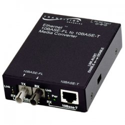 Transition Networks - E-TBT-FRL-05(XC)-NA - Transition Networks E-TBT-FRL-05(XC) Media Converter - 1 x SC Ports - 10Base-FL