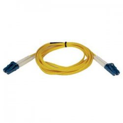 Tripp Lite - N370-03M - Tripp Lite 3M Duplex Singlemode 8.3/125 Fiber Optic Patch Cable LC/LC 10' 10ft 3 Meter - LC Male - LC Male - 9.84ft - Yellow