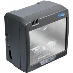 Datalogic - M221E-20111-04010R - Datalogic On-Counter Vertical Presentation Scanner - Cable Connectivity - 6 Scan Distance - 1D - Laser - Omni-directional