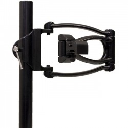 Ergotech - A00030 - Ergotech Single Articulating Arm - Pole Clamp - Black