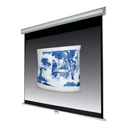 Inland Products - 5351 - Inland Manual Projection Screen - 100 - 16:9 - 104 x 59 - Matte White