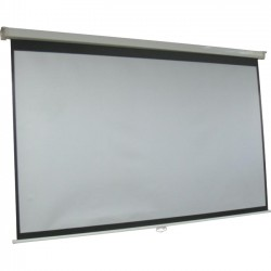 Inland Products - 5352 - Inland Manual Projection Screen - 120 - 16:9 - 104 x 59 - Matte White