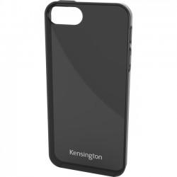 Kensington - K39658WW - Kensington Gel Case for iPhone 5 - Smoke Black - iPhone - Smoke Black - Silicone