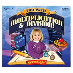 Selectsoft Publishing - LPFUNMUDIJ - Selectsoft Fun with Multiplication and Division - Educational Game - Jewel Case - Retail - PC, Mac