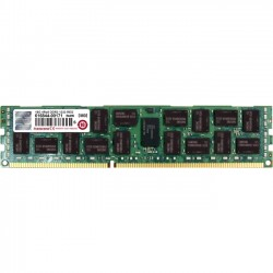 Transcend - TS2GKR72V3H - Transcend 16GB DDR3 SDRAM Memory Module - 16 GB (1 x 16 GB) - DDR3 SDRAM - 1333 MHz DDR3-1333/PC3-10600 - 1.50 V - ECC - Registered - 240-pin - DIMM