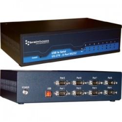 Brainboxes - US-279 - Brainboxes US-279 - USB 8 Port RS232 1MBaud - External - USB - PC, Mac, PC