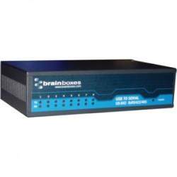 Brainboxes - US-842 - Brainboxes US-842 - USB 8 Port RS422/485 1MBaud - External - USB - PC, Mac, PC