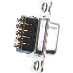Brainboxes - CC-869 - Brainboxes Screw Terminal Wired 9 Pin D Connector - 1 x DB-9 Female
