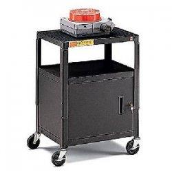 Bretford - A2642E - Bretford A2642E Height Adjustable A/V Cart - Black