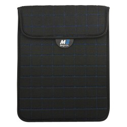 Mobile Edge - MESST1103 - Mobile Edge Neogrid Carrying Case (Sleeve) for 10 iPad, Tablet PC - Black, Blue - Neoprene, Polysuede Interior - 10 Height x 8 Width x 0.5 Depth