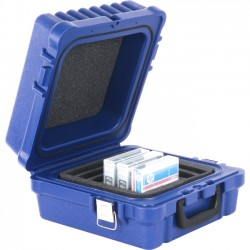 Turtle Cell - 01-679103 - Turtle LTO / DLT / RDX-10 Blue, Waterproof, Foam Slots - Foam - Blue - 10 LTO