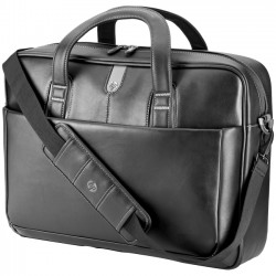 Hewlett Packard (HP) - H4J94AA - HP Carrying Case (Briefcase) for 17.3 Notebook, Tablet PC - Leather - Handle, Sling Strap