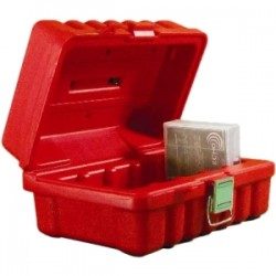 Turtle Cell - 00-672702 - Turtle DLT - 5 Capacity - High-density Polyethylene (HDPE) - Red - 5 Tape Cartridge