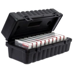Turtle Cell - 05-673402 - Turtle 8MM - 10 Capacity - High-density Polyethylene (HDPE) - Black - 10 Tape Cartridge