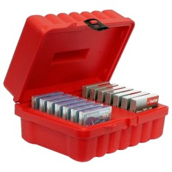 Turtle Cell - 06-673709 - Turtle 4MM - 14 Capacity - High-density Polyethylene (HDPE) - Red - 14 Tape Cartridge