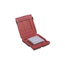 Turtle Cell - 10-675109 - Perm-A-Store Mailer DLT/LTO - 1 Capacity - Red - 1, 2 Tape Cartridge, CD/DVD