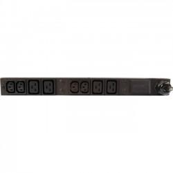 Geist - 11029 - Geist Basic 8-Outlets PDU - Basic - 4 x IEC 60320 C13, 4 x IEC 60320 C19 - 230 V AC - 3300 W - 0U/1U - Horizontal/Vertical