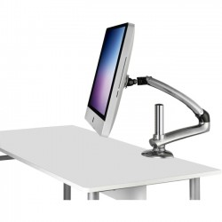 Ergotech - FDM-MAC-S01 - Ergotech Freedom Arm for iMAC (2007-2011) - Silver - Clamp Mount - Single