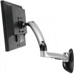 Ergotech - FDM-PC-S01-WM - Ergotech Freedom Arm for PC with Wall Mount - Silver - Wall Mount - Single