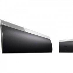 Panasonic - SC-NE5 - Panasonic SC-NE5 2.0 Speaker System - 40 W RMS - Wireless Speaker(s) - Black - 20 Hz - 20 kHz - Bluetooth - USB - iPod Supported - DLNA Certified