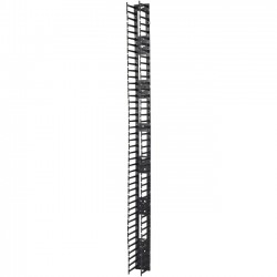 APC / Schneider Electric - AR7585 - APC by Schneider Electric Vertical Cable Manager for NetShelter SX 750mm Wide 45U (Qty 2) - Cable Pass-through - Black - 2 Pack - 45U Rack Height