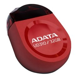 A-DATA Technology - AUD310-32G-RRD - Adata UD310 32GB RED RETAIL - 32 GB - USB 2.0 - Red - Rugged Design, Water Resistant, Impact Resistant