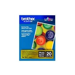 Brother International - BP71GLTR - Brother Innobella Photo Paper - Letter - 8 1/2 x 11 - Glossy