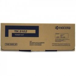 Kyocera - TK3102 - Kyocera Tk-3102 Black Toner Cartridge Includes Waste Toner Container For Use In