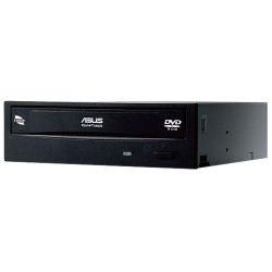 Asus - DVD-E818AAT/BLK/B/GEN - Asus DVD-E818AAT DVD-Reader - Bulk Pack - DVD-ROM Support - 48x CD Read - 18x DVD Read - Double-layer Media Supported - SATA - 5.25 - 1/2H