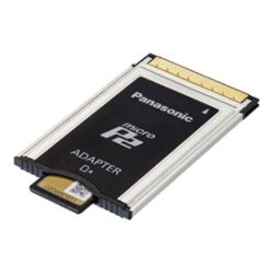 Panasonic - AJ-P2AD1G - Panasonic MicroP2 Adapter - microP2 Media Supported - PC Card Type II