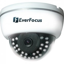 Everfocus - ED635 - EverFocus ED635 Surveillance Camera - Color - Super HAD CCD ll - Cable - Dome