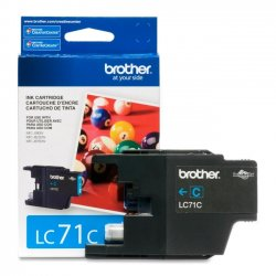 Brother International - LC71C - Brother Innobella LC71C Standard Yield Ink Cartridge - Inkjet - 300 Page - 1 Each