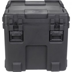 "SKB Cases - 3R2727-27B-E - SKB 3R 27"" Roto Military Standard Waterproof Case - Internal Dimensions: 27"" Width x 27"" Depth x 27"" Height - Latching Closure - Steel, Polyethylene - Black - For Military, Video Equipment, Lighting Equipment"