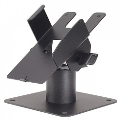 MMF Industries - 225-7589-04 - MMF POS Desk Mount for Payment Terminal - Steel - Black