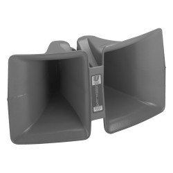 Bosch - COBREFLEX IIB - Electro-Voice Cobreflex IIB Folded Sectoral Horn - 6 dB - Audible - Bracket Mount - Gray