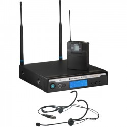 Bosch - R300-E-B - Electro-Voice Wireless Microphone System - 678 MHz to 694 MHz Operating Frequency - 80 Hz to 18 kHz Frequency Response