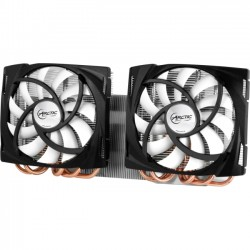 Arctic Cooling - DCACO-V680001-BL - Arctic Cooling Accelero Twin Turbo 6990 Cooling Fan/Heatsink - 2 x 120 mm - 1500 rpm - Fluid Dynamic Bearing
