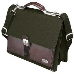 Tripp Lite - NB1002OL - Tripp Lite Slim-Line Professional Brief Bag Notebook / Laptop Computer Carrying Case - Top-loading - Nylon - Olive, Burgundy